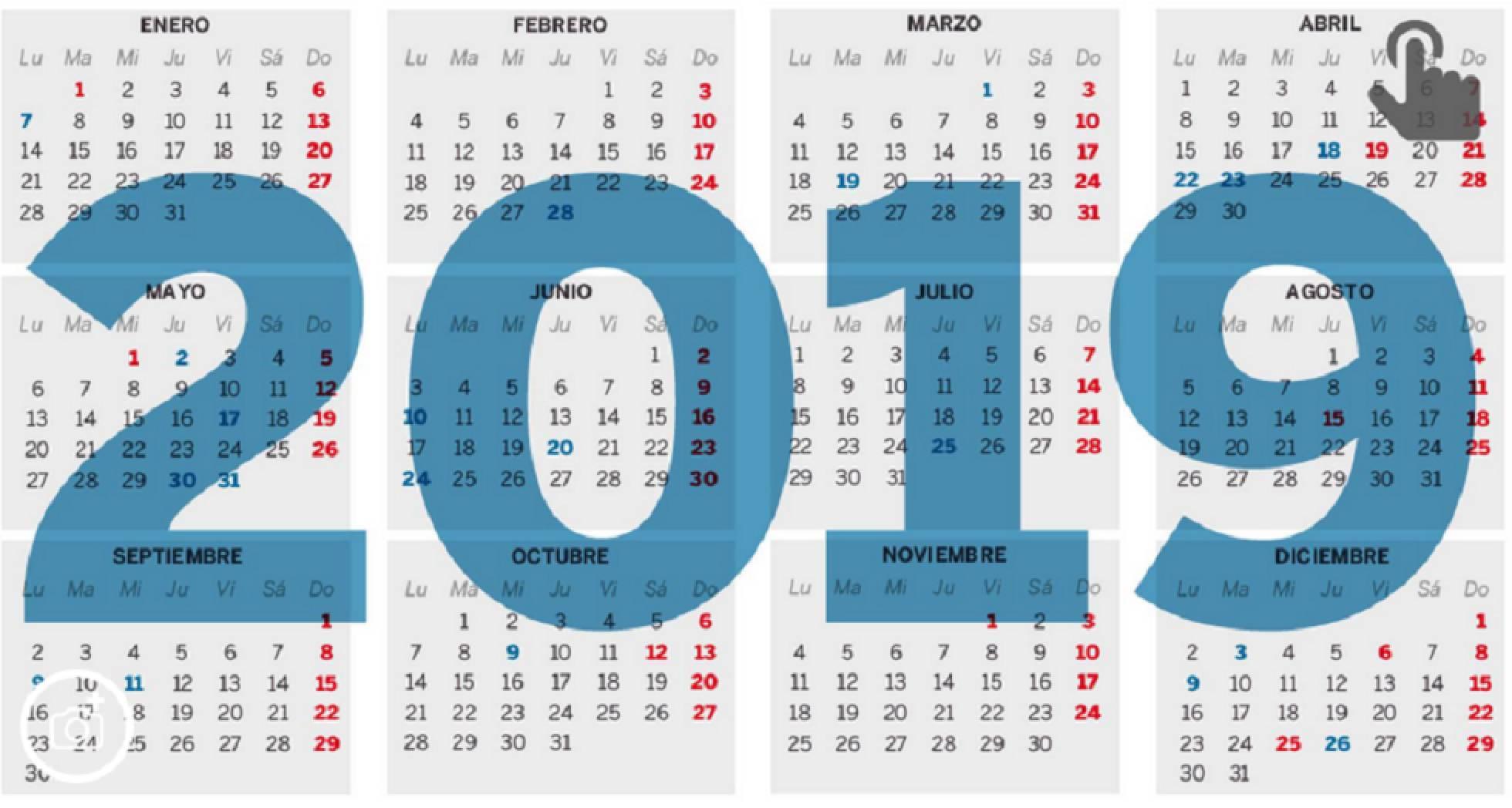 Calendario Laboral Gipuzkoa 2019.Spj Uso Publicado En Boe El Calendario Laboral De 2019 Spj Uso